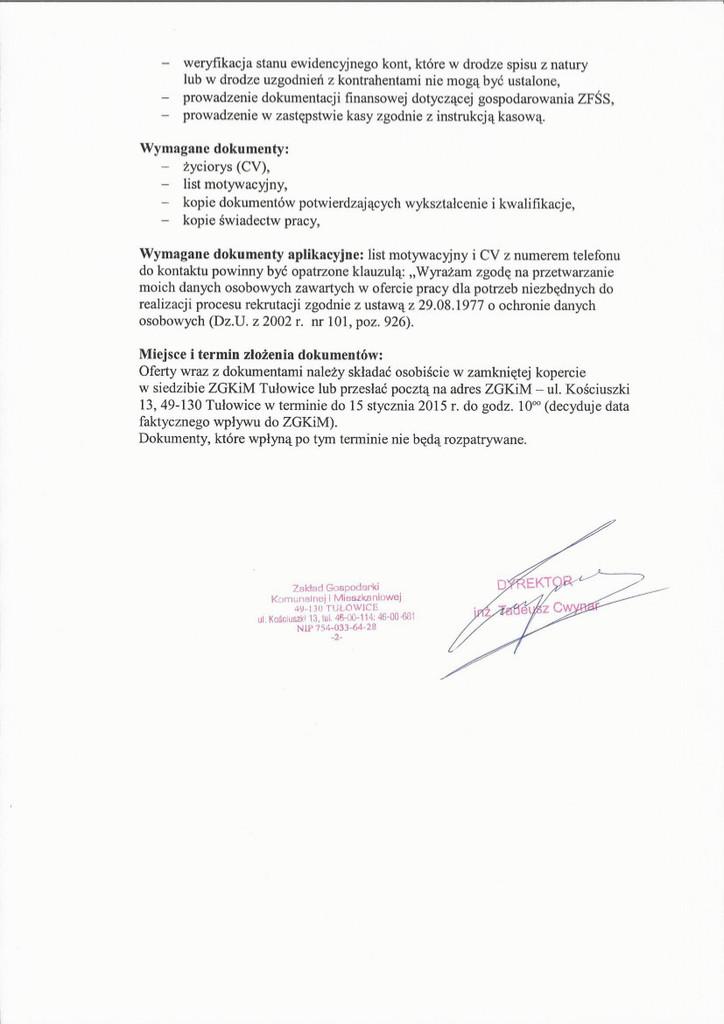 Nabór na stanowisku księgowa/y w Zakładzie Gospodarki Komunalnej1.jpeg